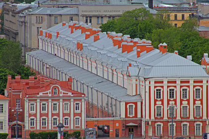 Здание СПбГУ. Фото: Wikipedia